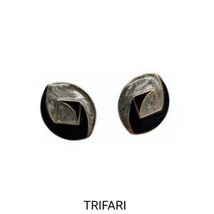 Trifari earrings in EUC